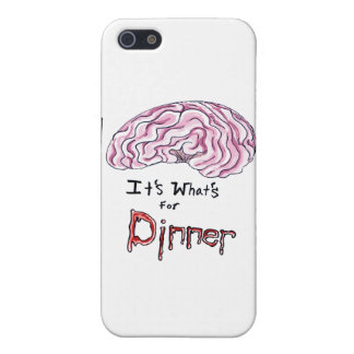 Brains....its what's for dinner iPhone SE/5/5s case