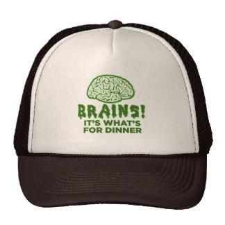 Brains, It's What's For Dinner Trucker Hat