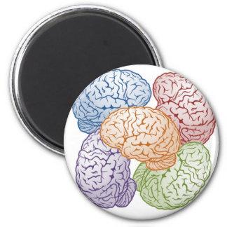 Brains Fridge Magnet