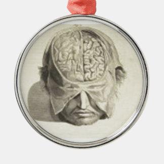 Brains Metal Ornament