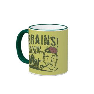 Brains! Ringer Coffee Mug