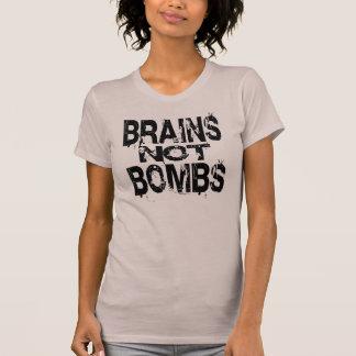 Brains Not Bombs Women's Tee Shirt