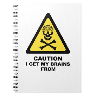 brains notebook