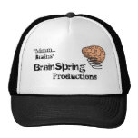 Brains on your head mesh hats