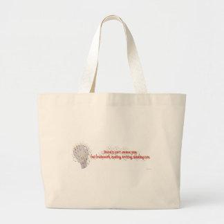 Brains Over Beauty Bag