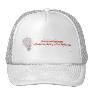 Brains Over Beauty Trucker Hat
