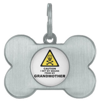 brains pet name tags