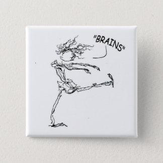 Brains Pinback Button