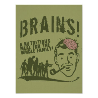 Brains! Poster