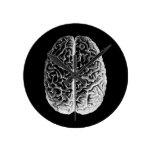 Brains! Round Wallclocks
