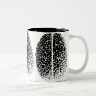 Brains Two-Tone Coffee Mug