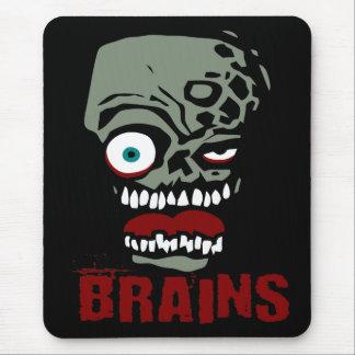 Brains zombie mouse pad