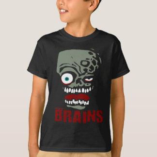 Brains zombie T-Shirt