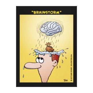 """""""Brainstorm"""" Canvas Prints"""