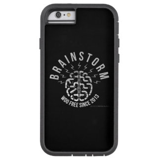 Brainstorm podcast logo Woo Free Since 2013 White Tough Xtreme iPhone 6 Case