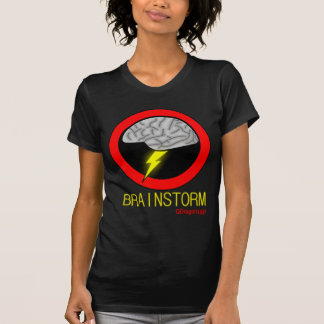 Brainstorm - Women's Black T-Shirt