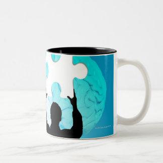 Brainstorming concept mug