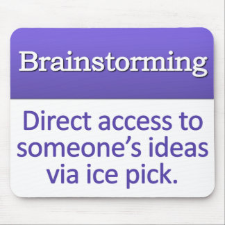 Brainstorming Definition Mouse Pad