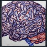 """BrainStorming Napkin<br><div class=""""desc"""">Human brain artwork</div>"""