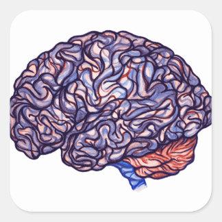 BrainStorming Square Sticker