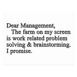 Brainstorming Tools (Standard) Postcard