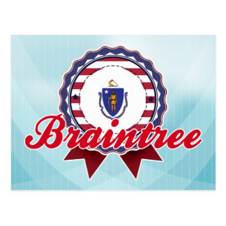 Braintree, MA Postcard