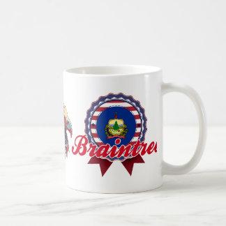 Braintree, VT Classic White Coffee Mug