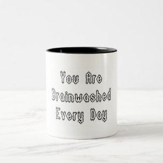 Brainwashed Two-Tone Coffee Mug