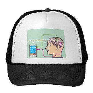 Brainwave Monitoring Trucker Hat