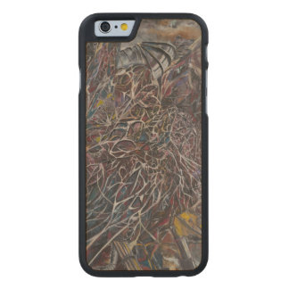 Brainwaves 2014 carved maple iPhone 6 slim case