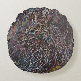 Brainwaves 2014 round pillow
