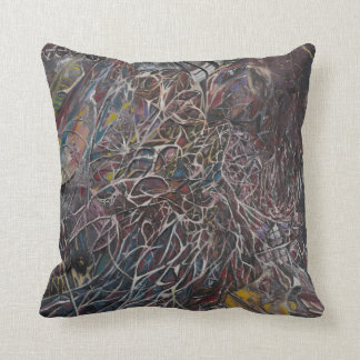 Brainwaves 2014 throw pillow