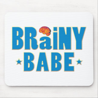 Brainy Babe Mouse Pad