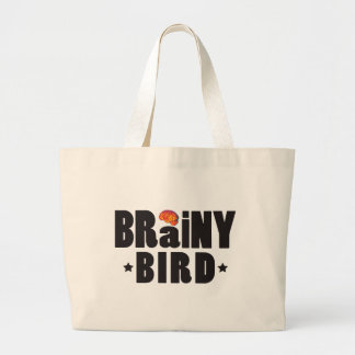 Brainy Bird K Canvas Bags
