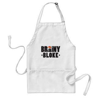 Brainy Bloke K Adult Apron