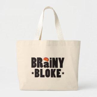 Brainy Bloke K Canvas Bags