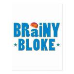 Brainy Bloke Post Card