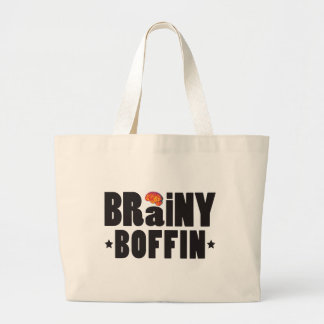 Brainy Boffin K Canvas Bags