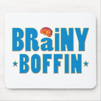 Brainy Boffin Mouse Pad