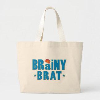 Brainy Brat Tote Bags