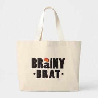 Brainy Brat K Canvas Bag