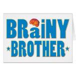 Brainy Brother Card