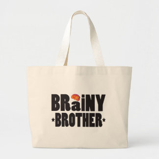 Brainy Brother K Canvas Bags