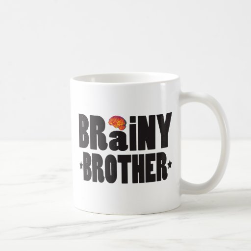 Brainy Brother K Coffee Mugs