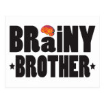Brainy Brother K Post Card