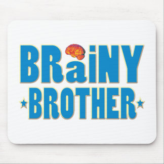 Brainy Brother Mouse Pad