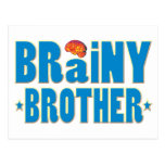 Brainy Brother Post Card