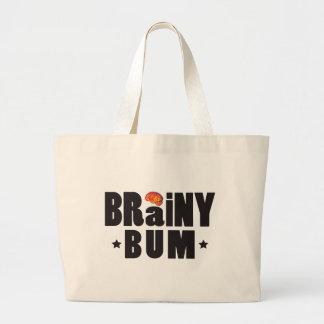 Brainy Bum K Tote Bags