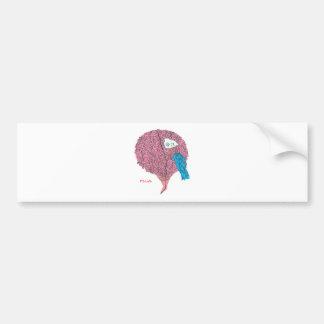 Brainy Bumper Sticker