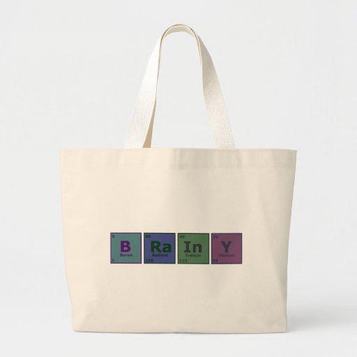 Brainy Canvas Bag